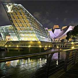 Marina Bay in Singapore. by Tony Yee - Buildings & Architecture Other Exteriors