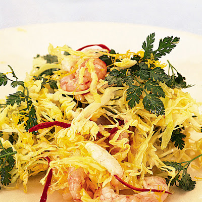 Prawn Salad With Chilli & White Cabbage