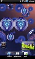 Screenshot of Medical Symbol doo-dad blue