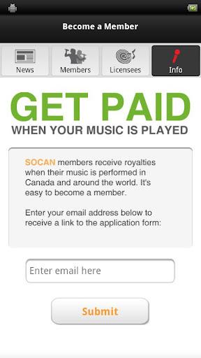 【免費音樂App】SOCAN-APP點子