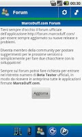 Screenshot of Info Operatore
