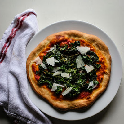 Mustard Green Pizza