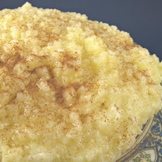 Ryzogalo or Greek Rice Pudding