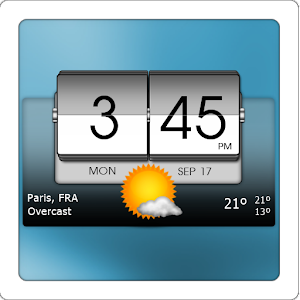 3D Flip Clock & World Weather for PC