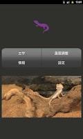 Screenshot of 【無料育成】ポケット爬虫類(トカゲ)