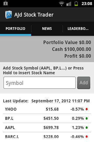 AJd Stock Trader