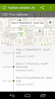 Screenshot of TripMate Adelaide Lite Transit