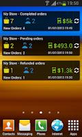 Screenshot of osCommerce Mobile Assistant