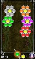Screenshot of Hexagon - shoot bubbles
