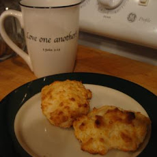 Reduced Fat Cheese Garlic Biscuits