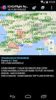 Screenshot of Metam - Aviation Weather/METAR