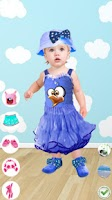 Screenshot of Dress Up Baby Girl