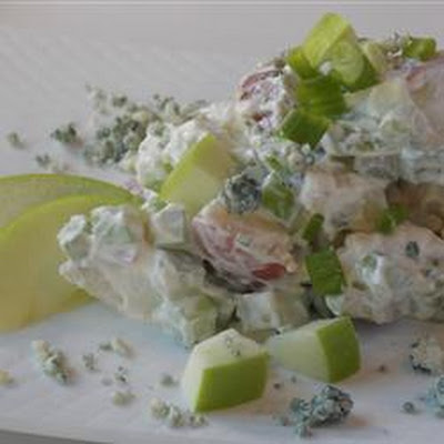 Blue Green and Red Potato Salad