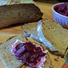 Fantastically Colored Earthy Vegan Beet Spread