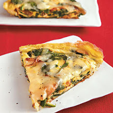 Spinach, Onion, and Swiss Frittata
