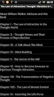 Screenshot of The Law of Attraction BOOK