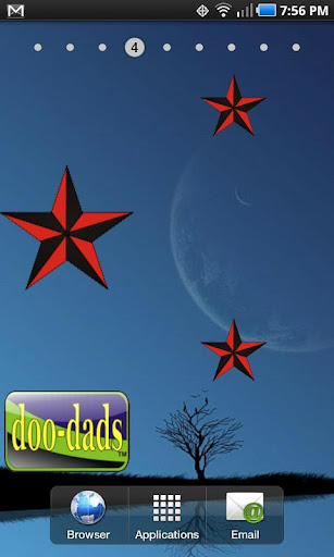 NavStar doo-dad red black