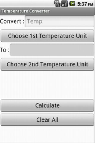 Temperature Converter No Ads