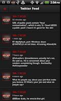 Screenshot of 104.7 KCLD