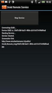 Droid Remote Service * ROOT * - screenshot