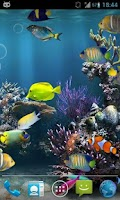 Screenshot of Fish Aquarium Live Wallpaper