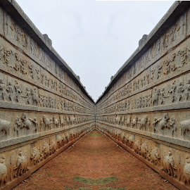 Hampi fort wall by Akhil Munjal - Buildings & Architecture Other Exteriors ( walls )