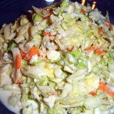 Buttermilk and Gorgonzola Coleslaw
