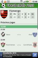 Screenshot of Brasileirão 2010 - Série A