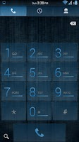 Screenshot of Acid Rain Blue CM11/AOKP Theme