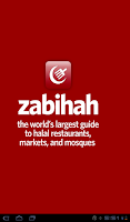 Screenshot of Zabihah for Android