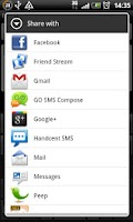 Screenshot of Text Emoticons