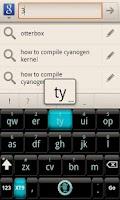 Screenshot of CyanogenMod Smart KB Theme