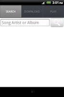 Screenshot of Music Download Paradise