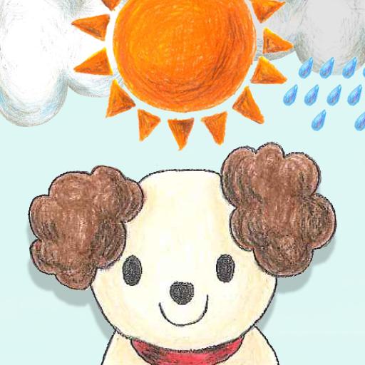 わんこお散歩天気予報 LOGO-APP點子