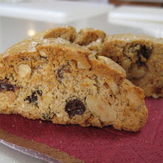 Raisin Walnut Biscotti