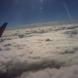 Away with the clouds  by Kayleigh Roddick-Smith - Transportation Airplanes