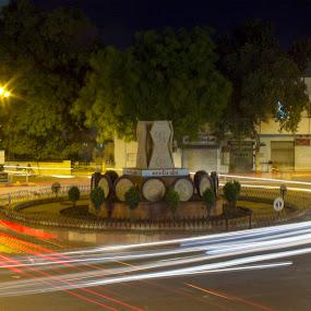 lighting by Nirav Raval - City,  Street & Park  Night ( lighting, night life, light shade, night, india, light )