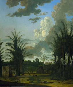 RIJKS: Dirk Valkenburg: Plantation in Suriname 1707