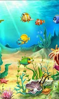 Screenshot of MF Aquarium Live Wallpaper Pro