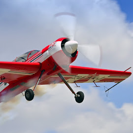 Sukhoi by Christo Boshoff - Transportation Airplanes ( sukhoi, russian, airplane, acrobat, air show )