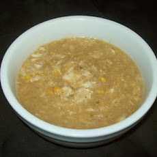 Easy Crabmeat and Corn Soup