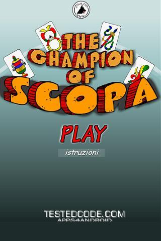 Il Campione di Scopa