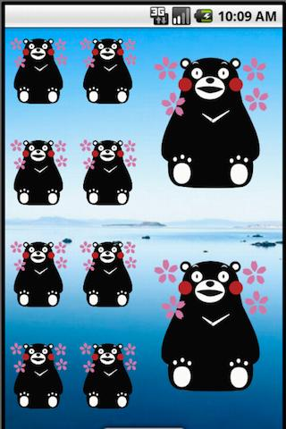 KUMAMON clock