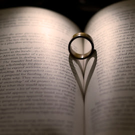 I give my heart with this ring :) by Sambhav Kumbhani - Wedding Other ( love, ring, heart, wedding, book, valentine )