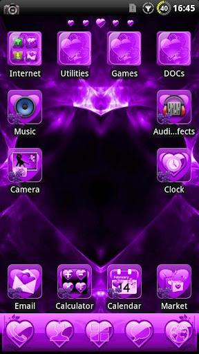 Valentine Purple GO Theme