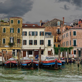 Venice in Rain by Michael Otter - Buildings & Architecture Homes
