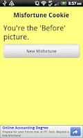 Screenshot of Misfortune Cookie