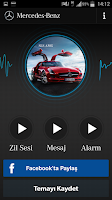 Screenshot of Mercedes-Benz Ses Teması
