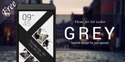 Screenshot of GREY GO LOCKER THEME