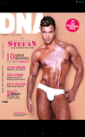 Screenshot of DNA Magazine